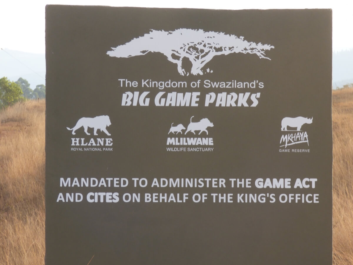 Big Game Parks in Swaziland