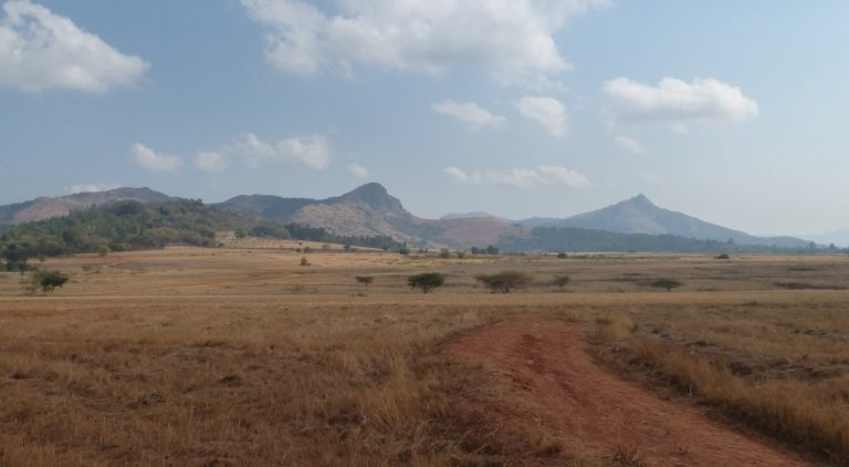 Landschap in Swaziland