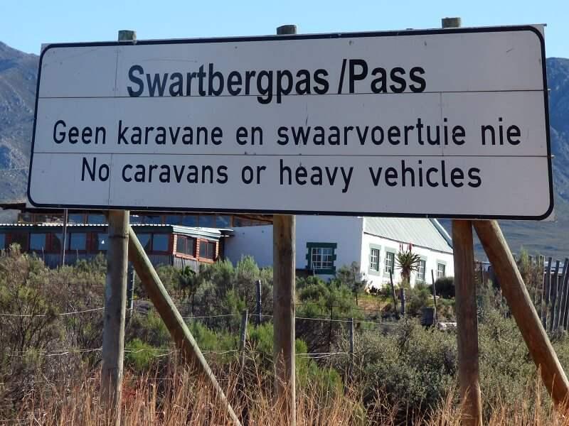 Swartbergpas Westkaap