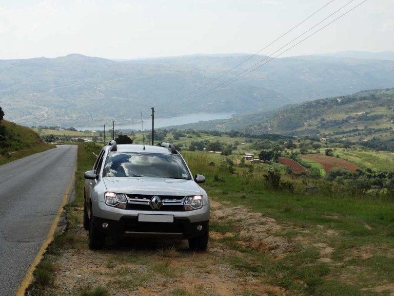 Gehuurde auto in Swaziland