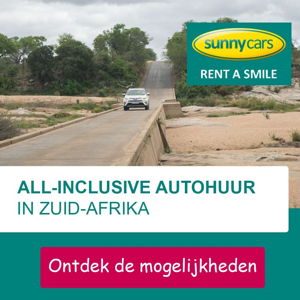 Huurauto Zuid-Afrika via SunnyCars