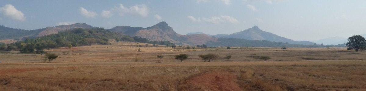 Landschap in Swaziland